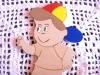 Pintura do boneco